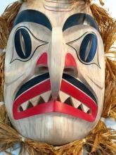 Jay Brabant, Cree, shark mask