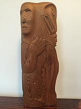 Robert Kelly, Squamish, carving