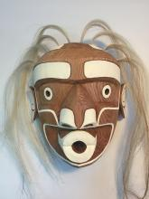 Tim Alfred, Kwakiutl- Killer Whale Mask