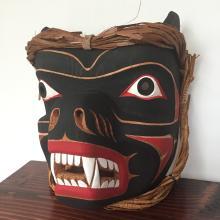 Emil Thibert, Salteaux- Bear Mask