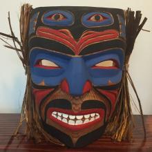 Emil Thibert, Salteaux- Warrior Mask