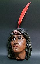 Plaster Indian Head