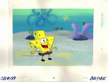 Original Master Setup of SpongeBob from the Episode HOOKY