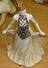 Royal Worcester figure of Grace