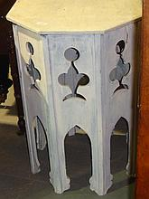 Painted Arts and Crafts table