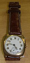 Early 20th century Longines Gents wristwatch with