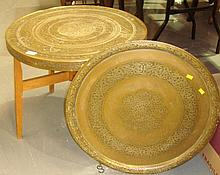 Persian Benares table and tray