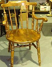 Captains style chair