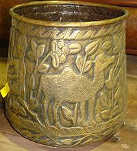 Indian brass pot