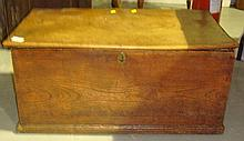 19th century elm box