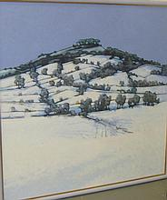 Surprise Snowfall, Dumpdon Hill, Honiton Robert