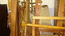 Early 20th century wool working loom