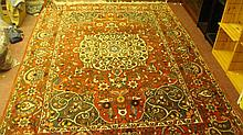 Vintage large Baktiari carpet 10ft x 7ft