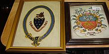Pair of Heraldry pictures
