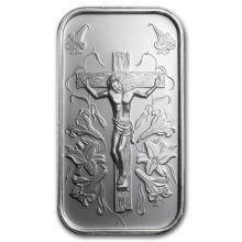 1 oz Silver Bar - Jesus (w/Gift Box & Capsule)