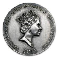 2 oz Silver Coin - Biblical Series (Exodus)