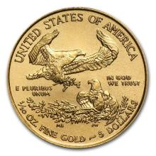 2015 1/10 oz Gold American Eagle MS-69 NGC (Early Releases)