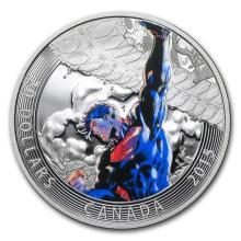 2015 Canada Silver Iconic Superman? - Superman Unchained