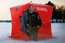 Quickfish 3 Eskimo Pop-Up Portable Ice Shanty