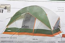 Grizzly Den 8 Person Family Tent - Camping