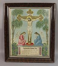 Vintage Polish Religious Picture