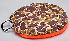 Allen Orange Camouflage Hunting Hot Seat