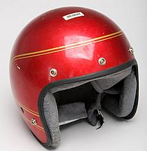 Red DOT Motorcycle Helmet Size Medium