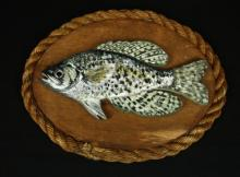 Decorative Vintage Bass Fish Wall Plaque