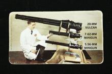 RARE Fastest Guns Vintage Flicker Business Card