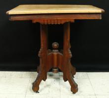 Vintage Decorative Wood Side Table