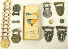 11 Vintage Gun Club & Sharpshooters Medals