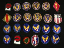 24 Vintage Military Patches