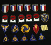 22 Vintage U.S. Military Patches