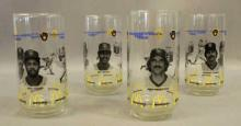 1982 McDonalds National League Milwaukee Brewers Glasses - 4