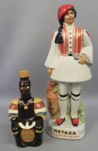 Collectable Alcohol Figurine Decanters