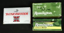 Ammo Lot, Winchester, Remington