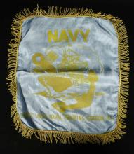 Great Lakes Naval Training Station Pillow Cover