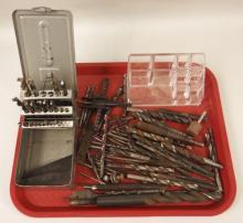 Assorted Drill Bits Lot