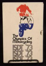 1973 The Olympics of Motorcycling Book
