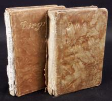 Antique Virgil & Poe Leather Bound Books