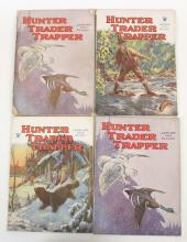 4 - Vintage 1930s Hunter Trader Trapper Magazines