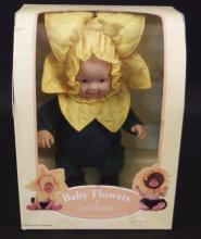 Baby Flowers by Anne Geddes Doll in Box