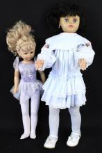 Two Vintage dolls - 1993 & Uneeda Doll 1968