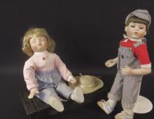 2 Collectible Pemberton & Oakes Dolls