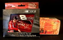 Dale Earnhardt Jr. Signed Playing Cards & Car