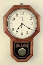 Ingraham Regulator Pendulum Quartz Clock