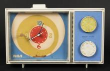 Retro RCA Clock Radio Model: RZD 14Y White