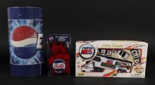 Pepsi Collectible Beanies, Banner & Transporter