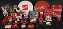 Collectible Coca Cola Magnets, Beanies, Camera, CD