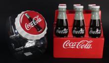 2 Collectible Coca Cola Collectible Cookie Jars